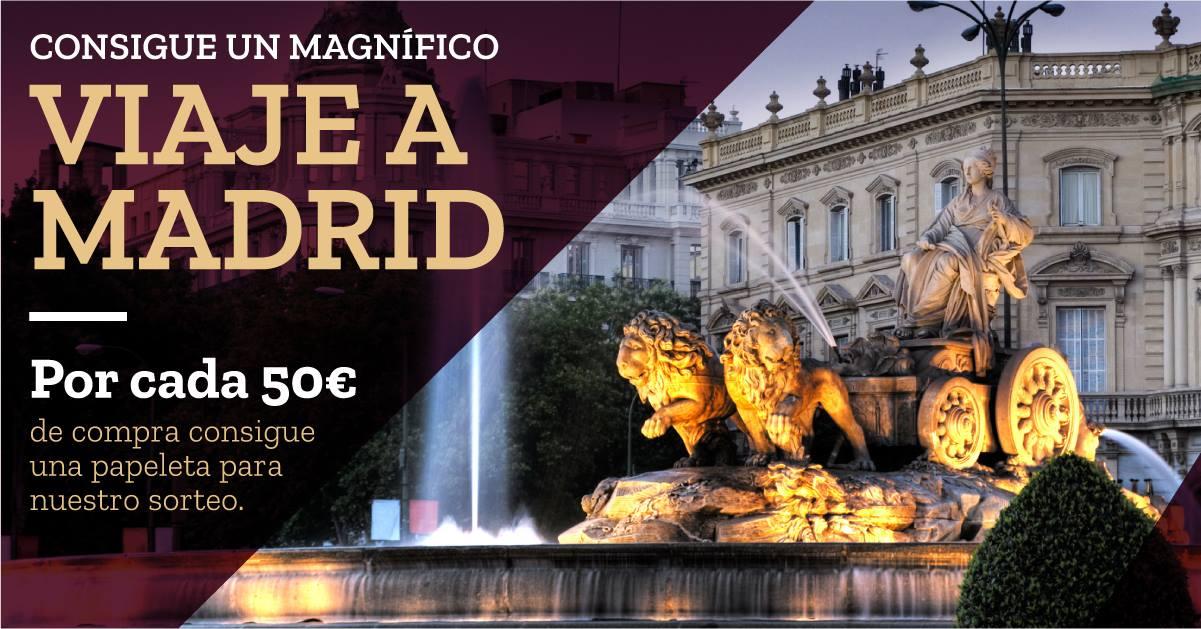 Gana un viaje a Madrid para dos personas